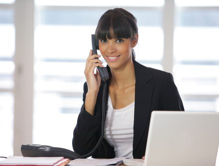 receptionist for corporate staffing projects